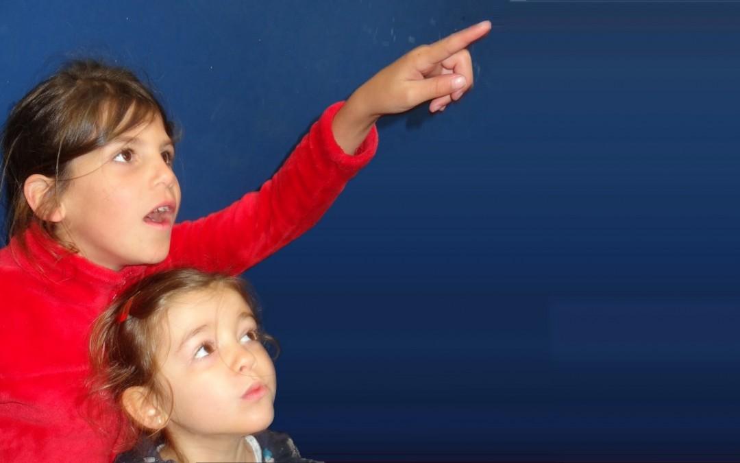 Nos plus jeunes astronomes…