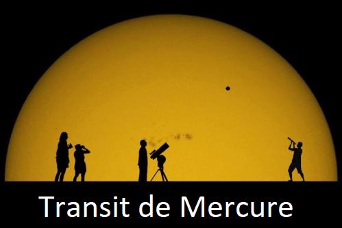 Transit de Mercure le Lundi 11 Novembre