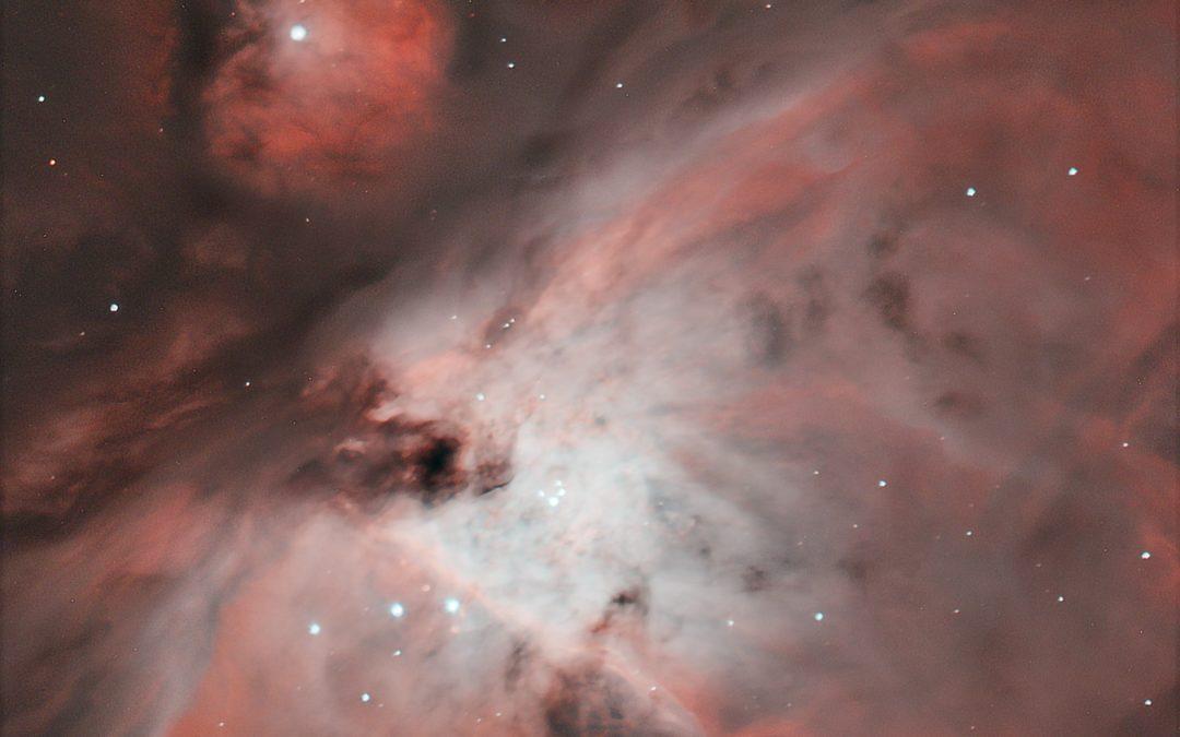 Première photographie du ciel profond à l'Observatoire de la Pointe du diable
