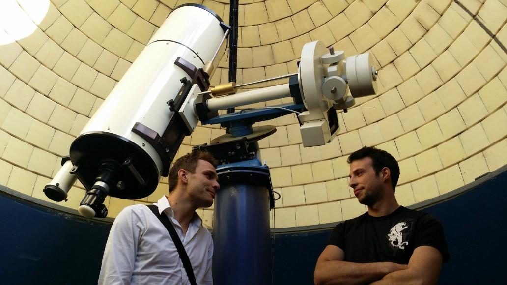 Deux nouveaux astronomes en titre à l'Observatoire de la Pointe du Diable