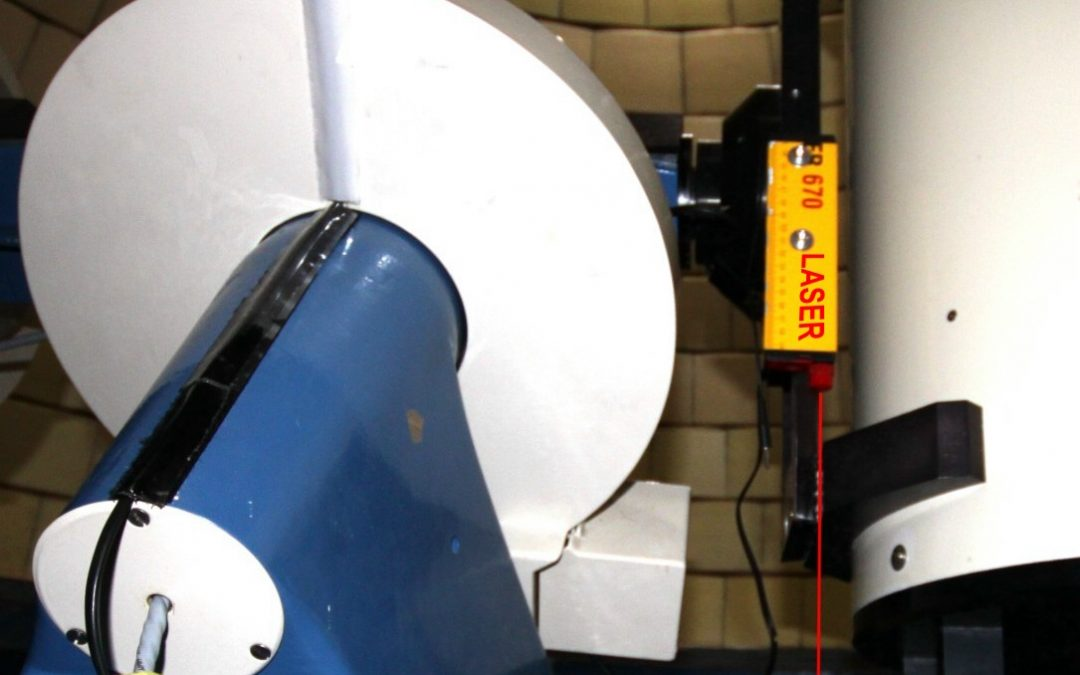 Calibrage du zénith par rayon Laser