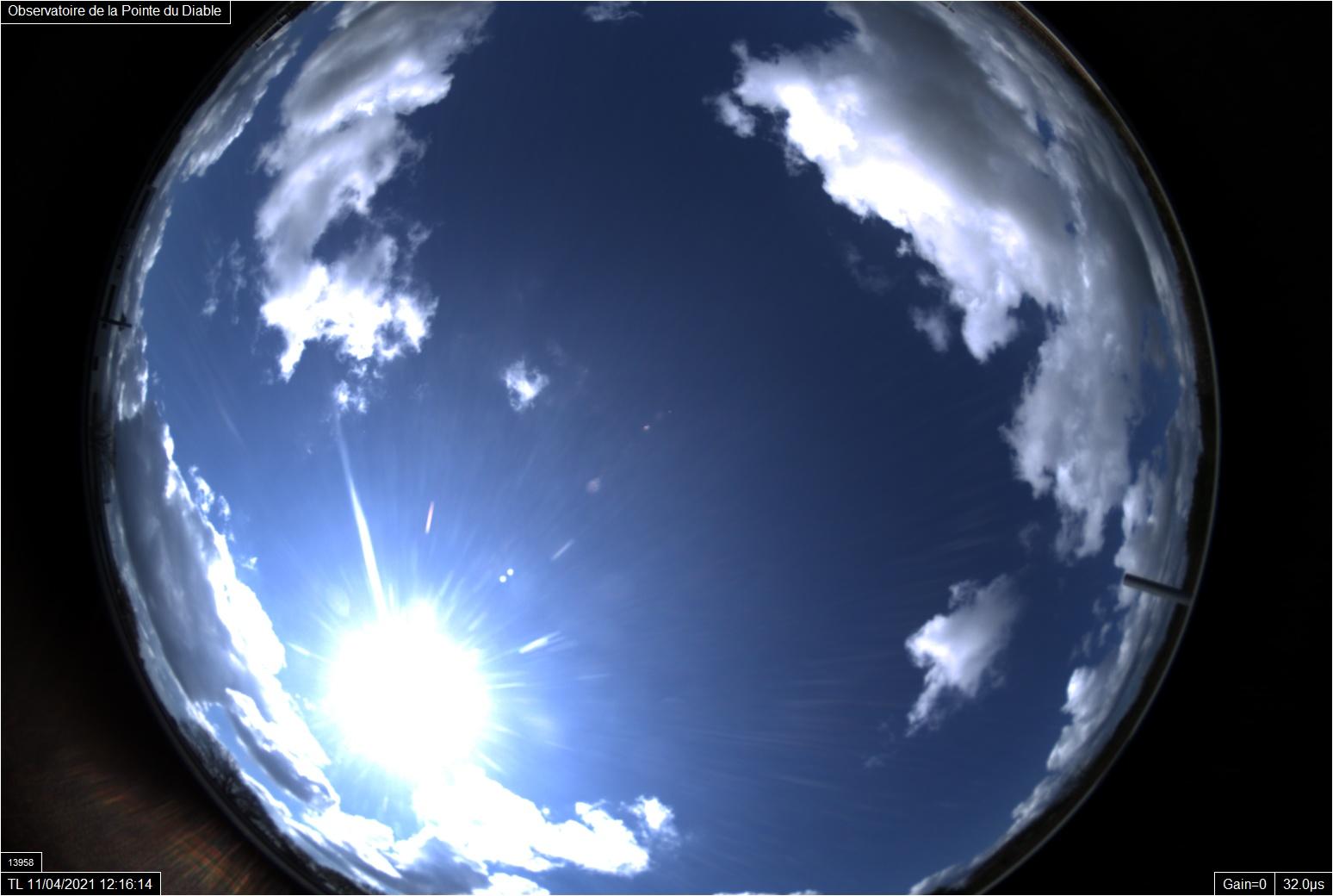 Le ciel de jour